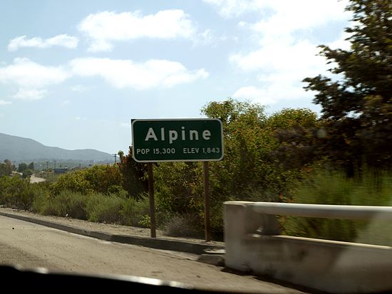 alpine california0